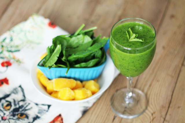 Mango Mint Smoothie- Low Histamine Diet