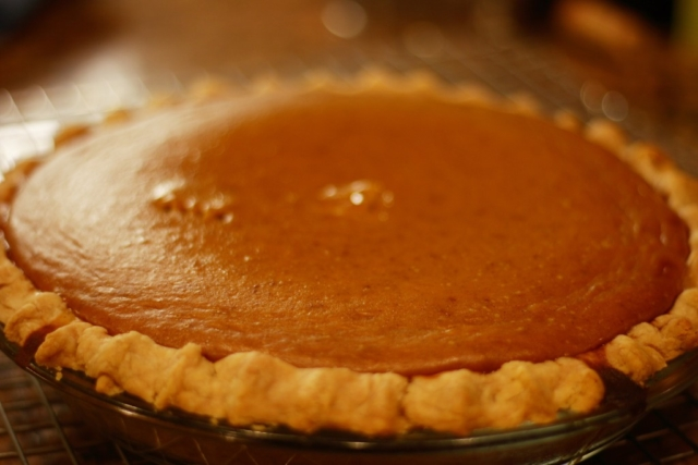 Low Histamine Pumpkin Pie