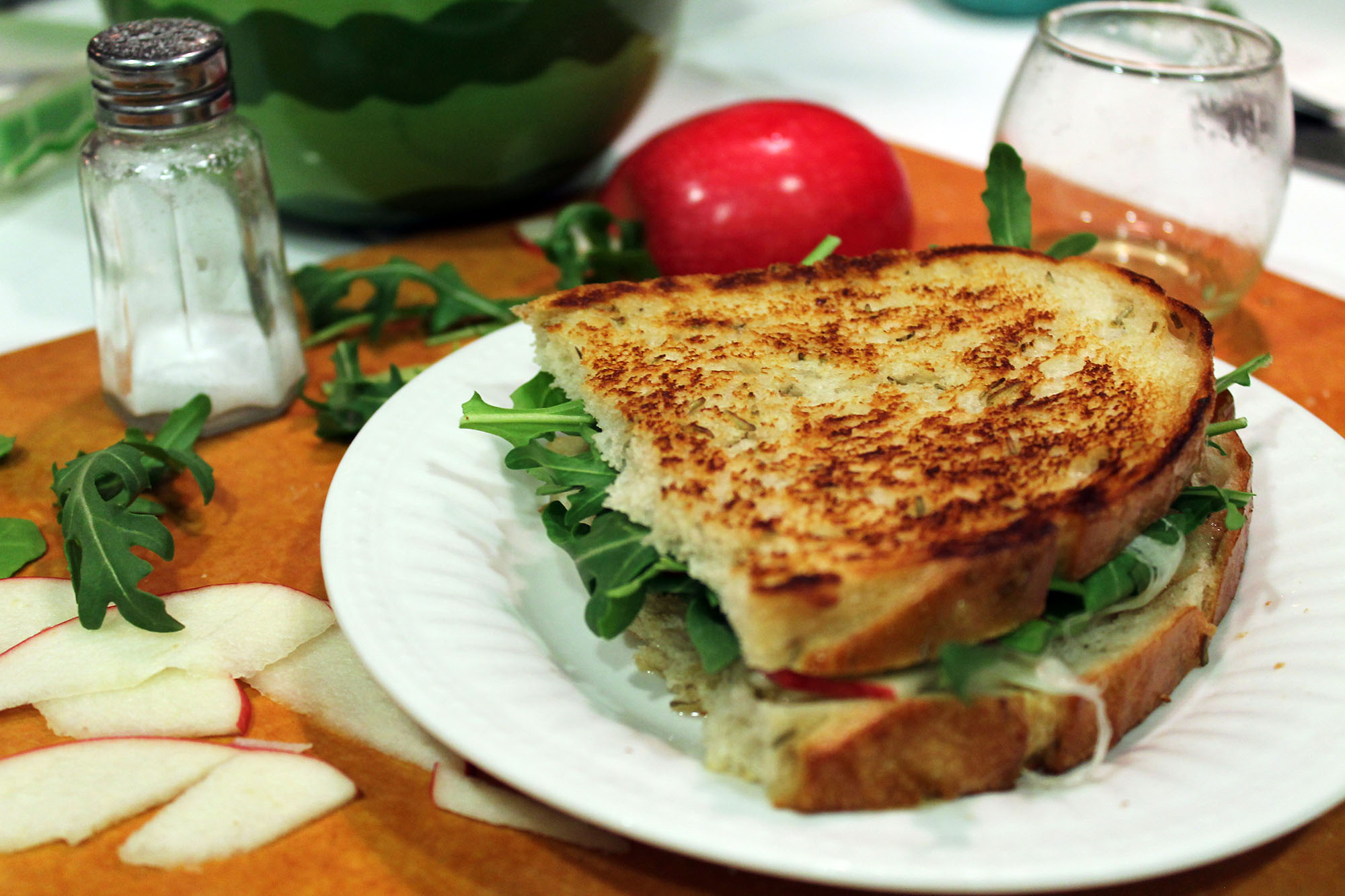 Mozzarella Apple Panini- Low Histamine Diet