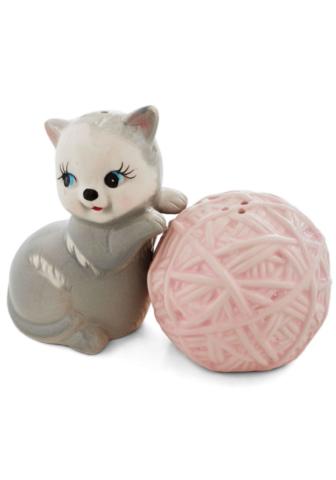 kitten salt shaker gift