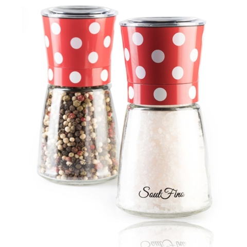 polka dot salt shaker gift